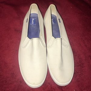 Woman's Slip On Classic White Keds Shoes Sneakers